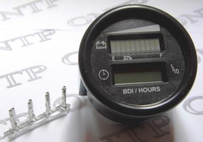 Horamètre, indicateur de charge et relais de coupure