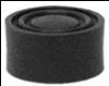 Protection noire pour bouton poussoir