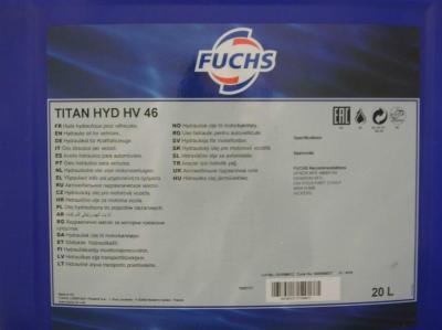 Huile hydraulique HV46
