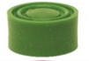 Protection verte pour bouton poussoir